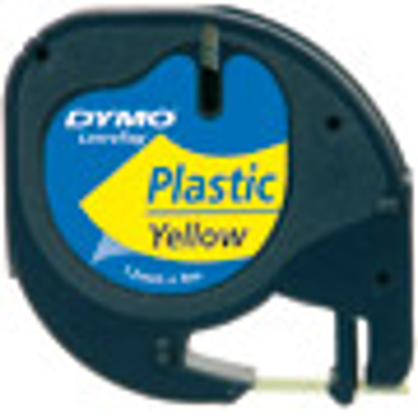 Dymo Tape LetraTAG 12mm Plastic Clear