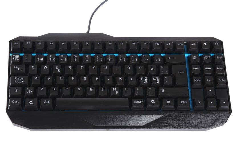 Penclic Professional Typist MK1 Kablet Tastatur Nordisk Svart