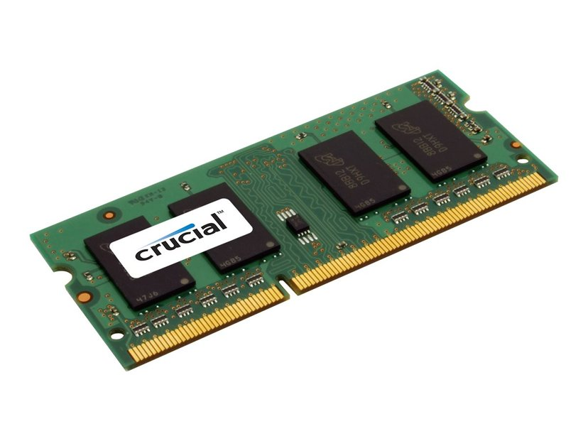 Crucial DDR3l 8GB 1,600MHz DDR3L SDRAM SO DIMM 204-pin