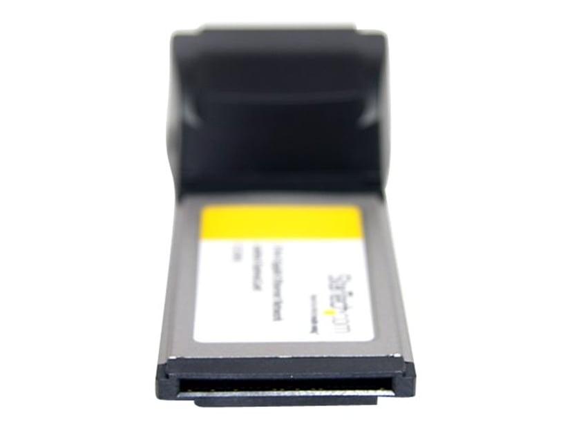 Startech Dual Port ExpressCard Gigabit Laptop Ethernet NIC Network Adapter Card