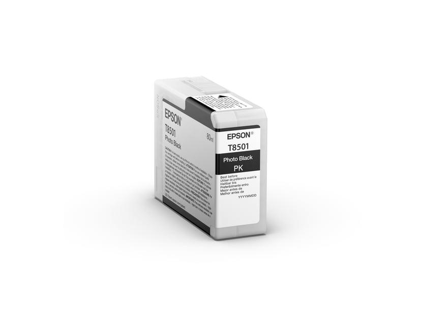 Epson Blekk Foto Svart HD T8501 80ml - SUREColor P800