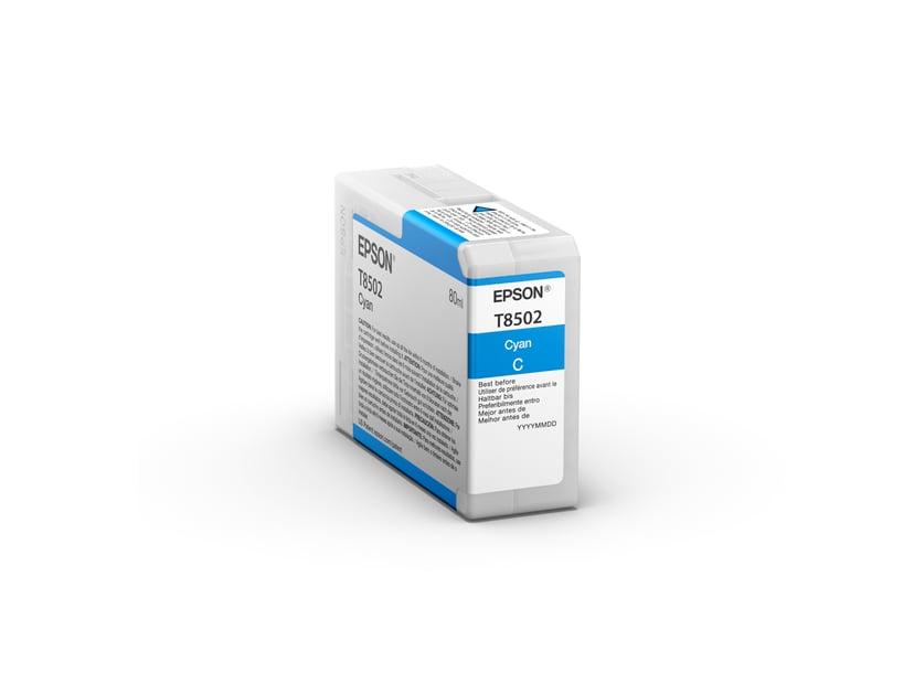 Epson Bläck Cyan HD T8502 80ml - SUREColor P800