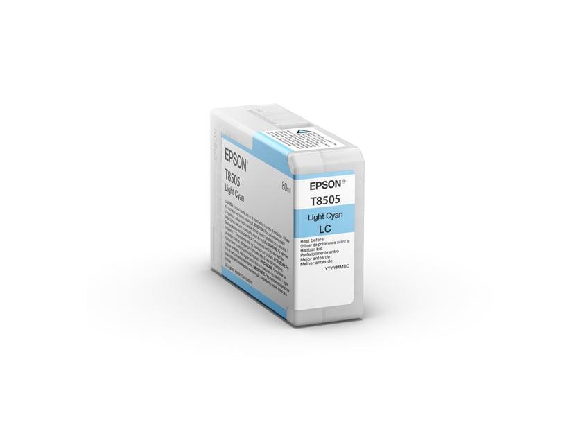 Epson Blæk Ljus Cyan HD T8505 80ml - SUREColor P800
