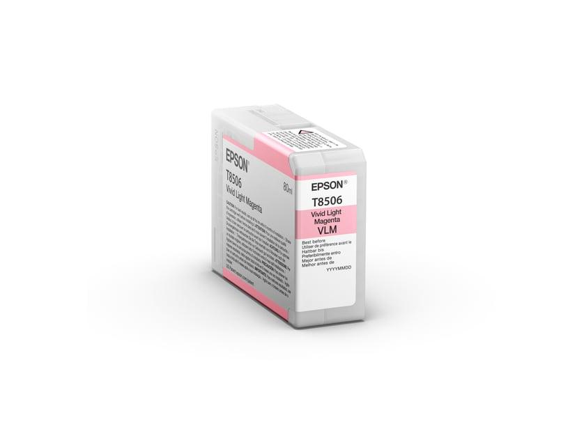 Epson Bläck Ljus Magenta HD T8506 80ml - SUREColor P800