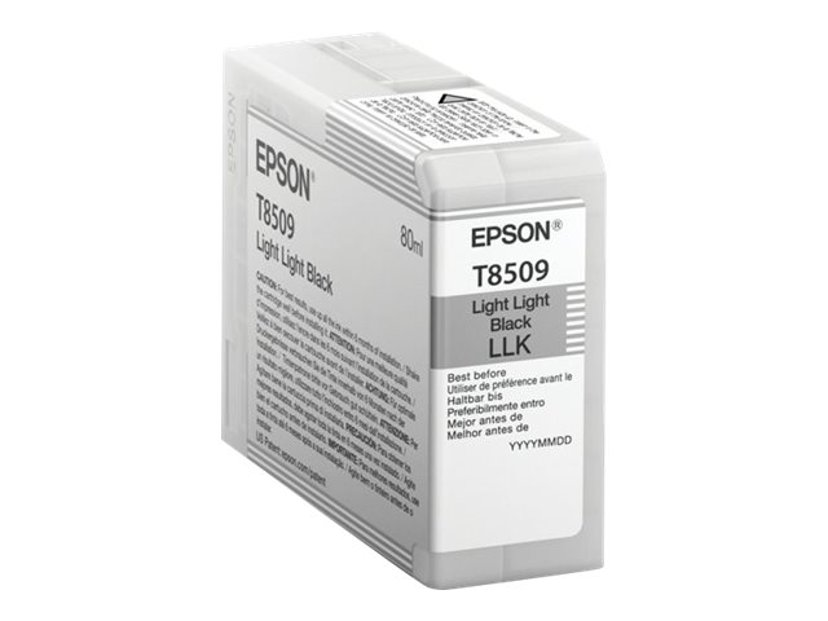 Epson Blæk Ljus Light Sort HD T8509 80ml - SUREColor P800