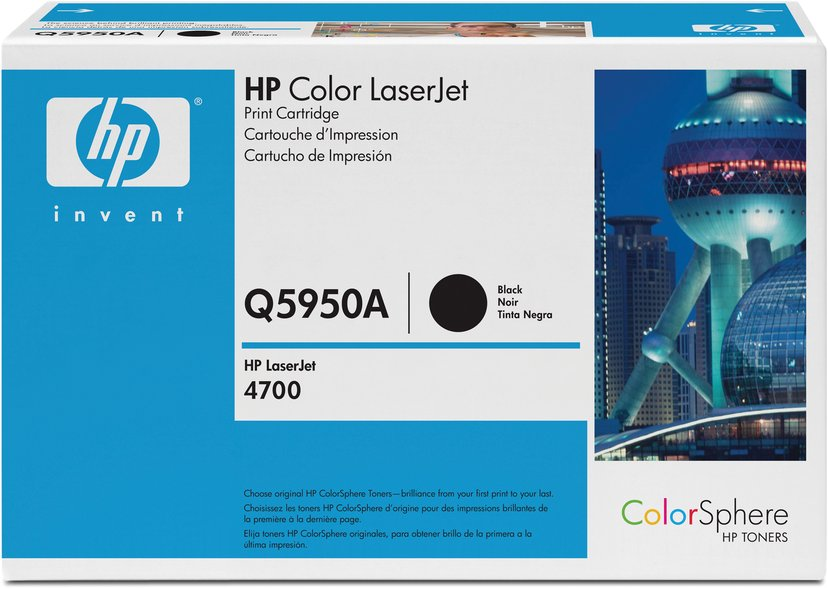 HP Toner Zwart 643A 11K - Q5950A