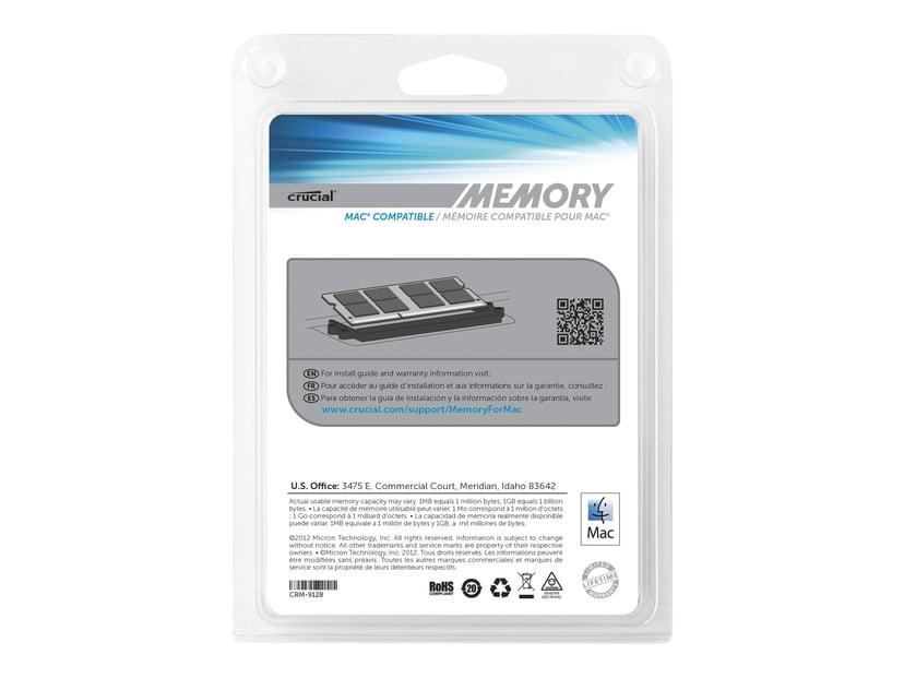 Crucial DDR3 16GB 1,333MHz DDR3 SDRAM SO DIMM 204-pin