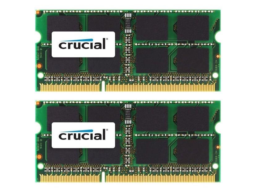Crucial DDR3 16GB 1,600MHz DDR3 SDRAM SO DIMM 204-PIN