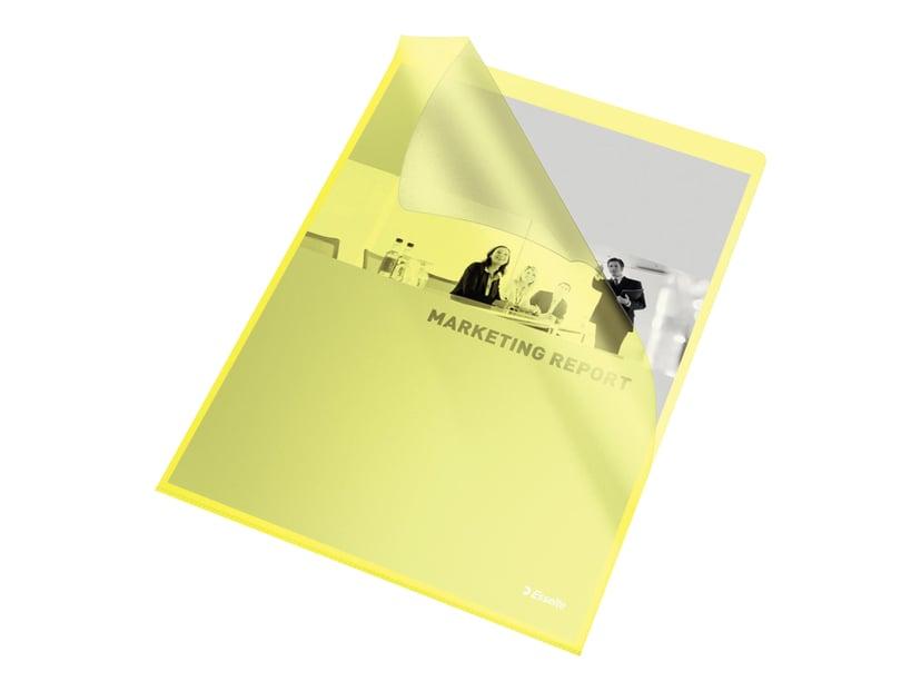 Esselte Aktmapp Copysafe A4 Gul 100-Pack