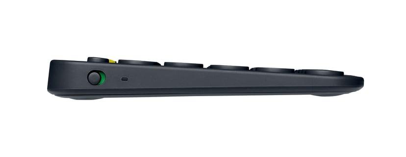 Logitech Multi-Device K380 Tangentbord Trådlös Nordisk Svart