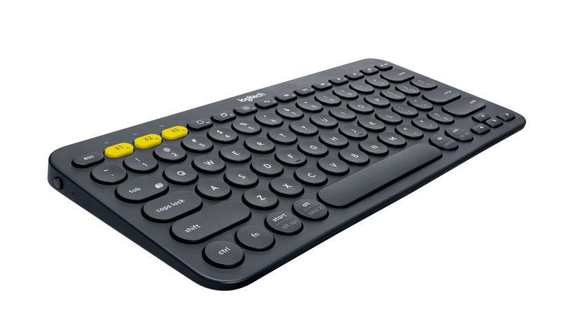 Logitech Multi-Device K380 Trådløs Tastatur Nordisk Svart
