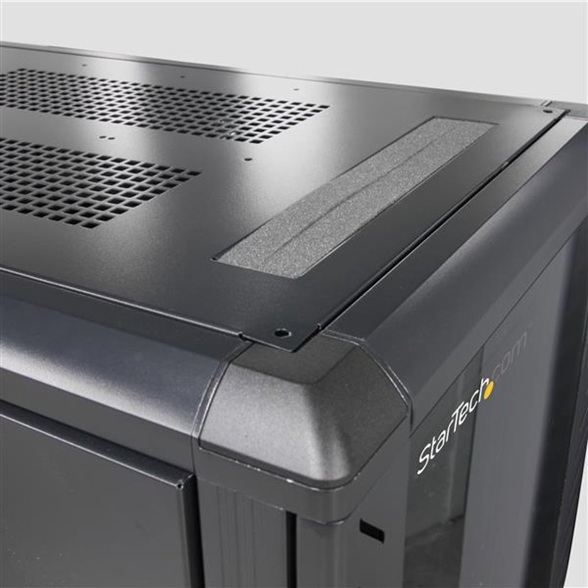Startech 12U 36in Knock-Down Server Rack Cabinet with Casters