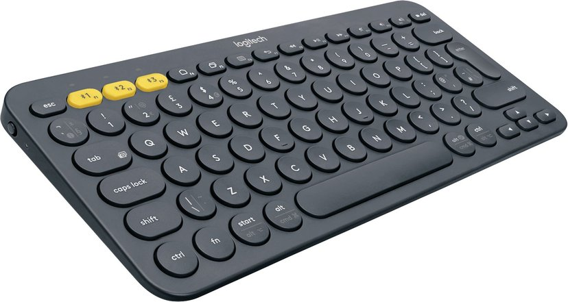 Logitech Multi-Device K380 Trådløs Tastatur Nordisk Sort