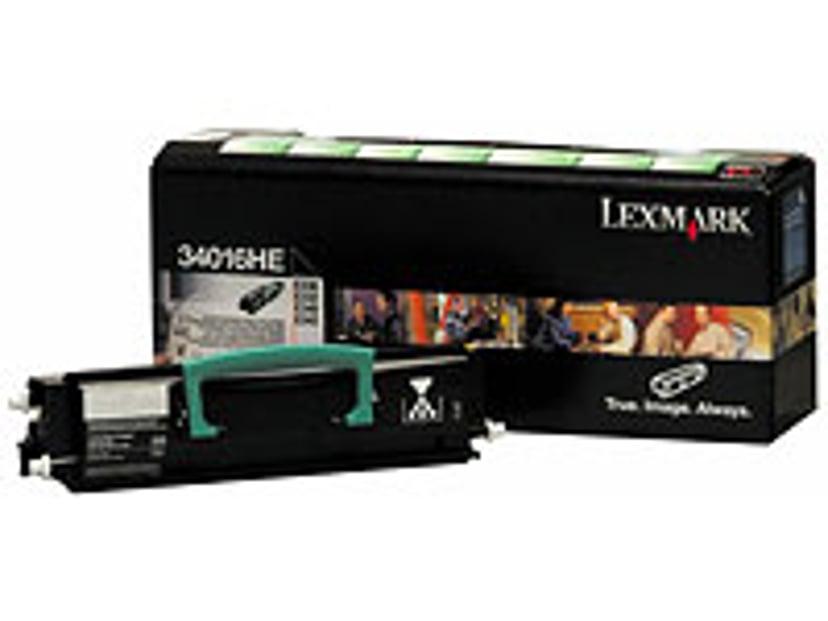 Lexmark Toner Svart 6k E33X/34X Return PROGRAM