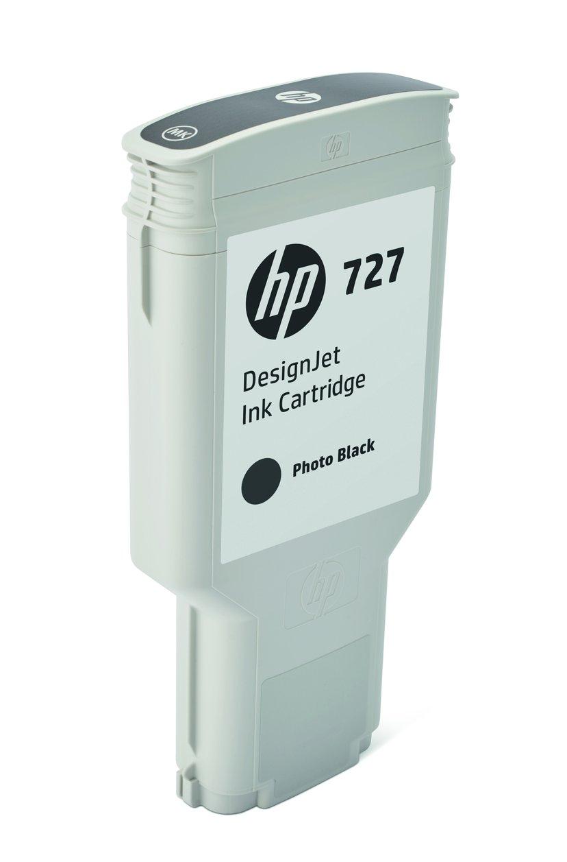 HP Blekk Foto Svart 727 300ml - DJ 1530