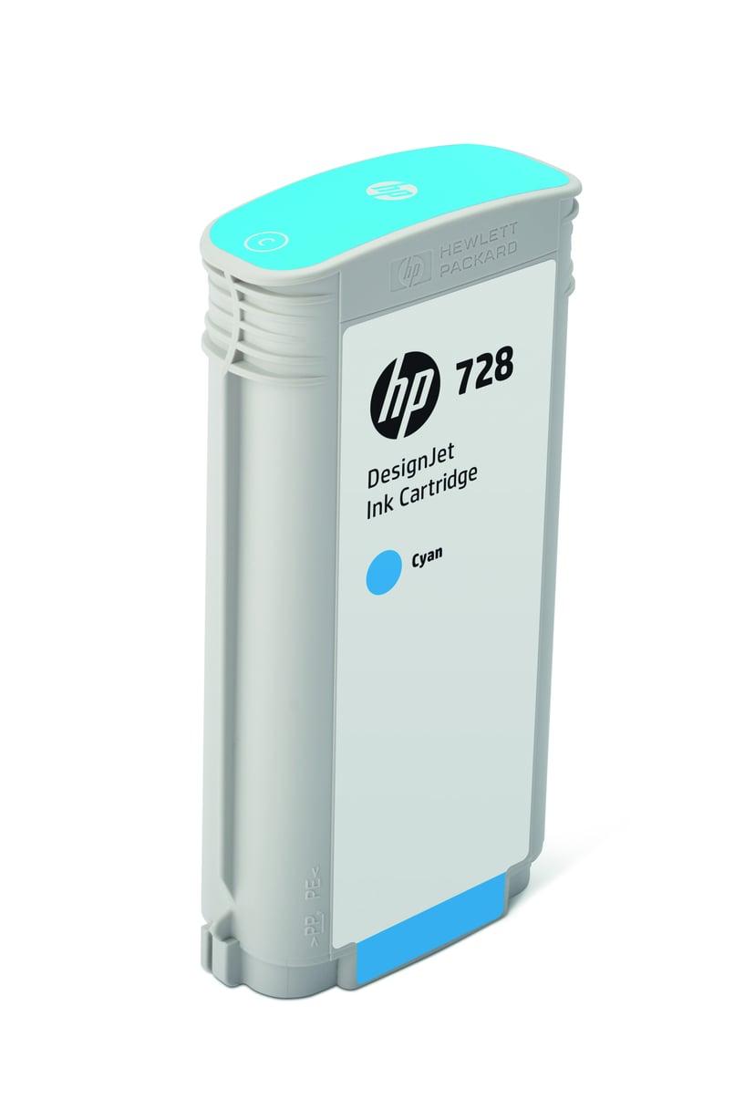HP Blekk Cyan 728 130ml - DJ T730