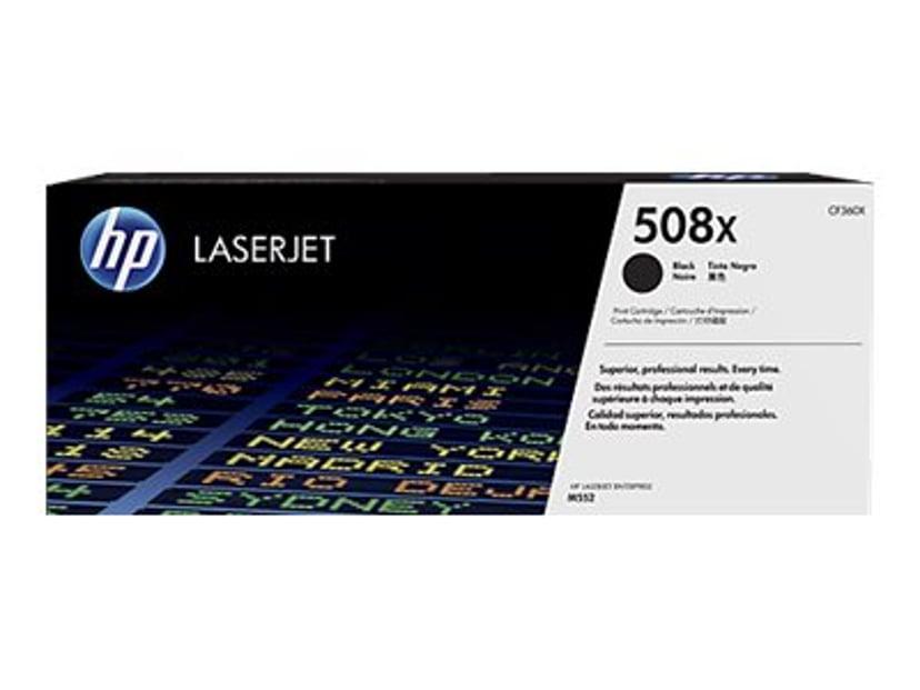 HP Toner Svart 508X 12.5K - CF360X #KÖP