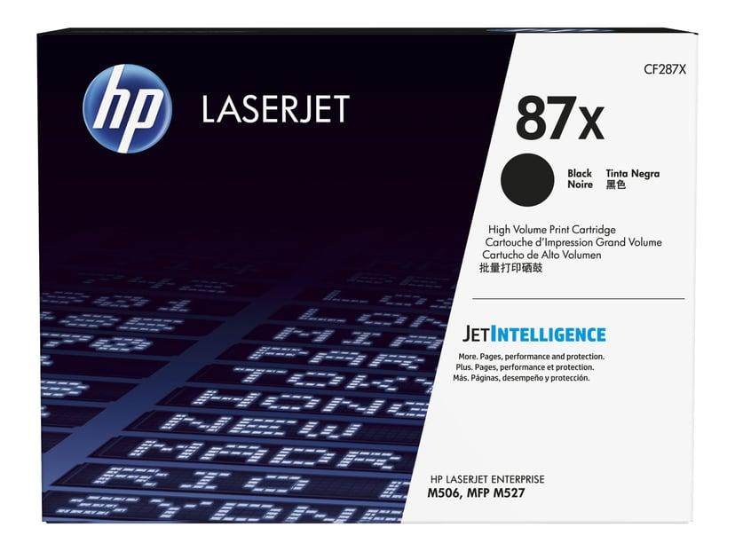 HP Toner Svart 87X 18K - CF287X #KÖP