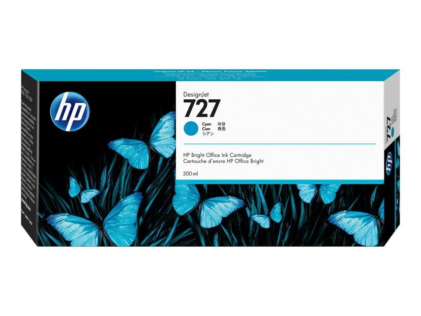 HP Blekk Cyan 727 300ml - DJ 1530