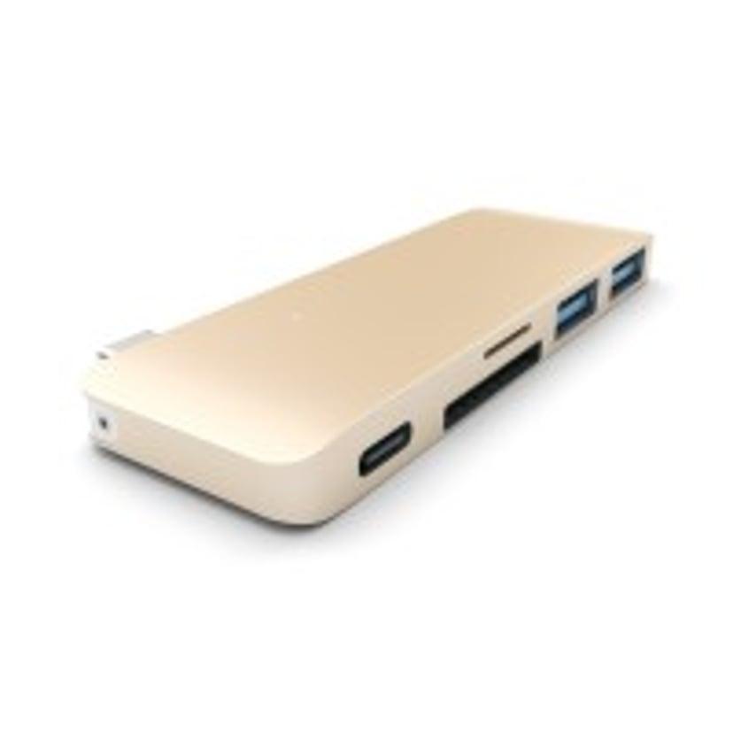 Satechi Type-C USB 3-in-1 Hub Gold