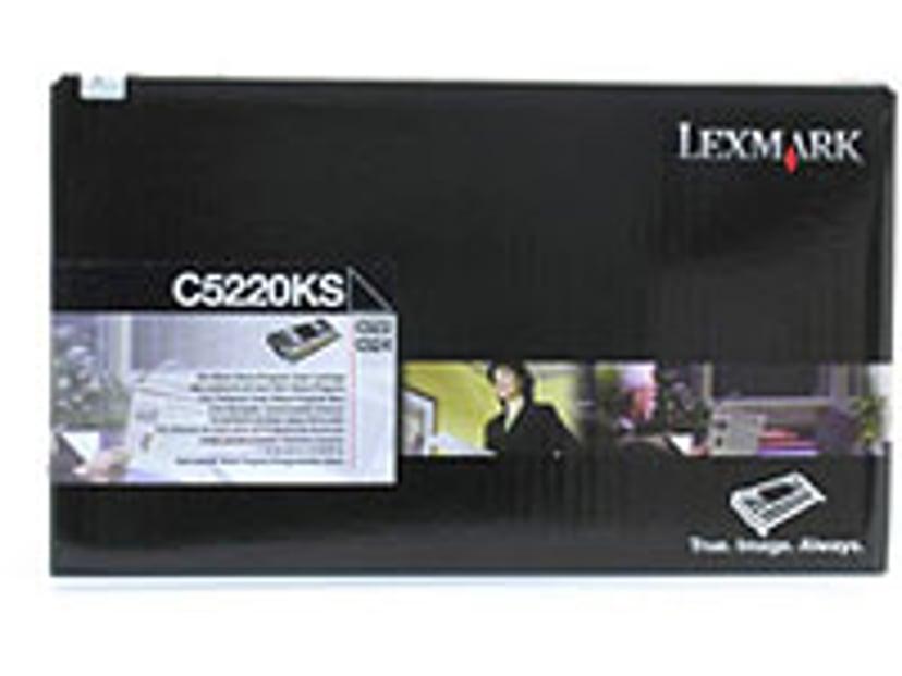 Lexmark Värikasetti Musta 4k C522N/C524 Return