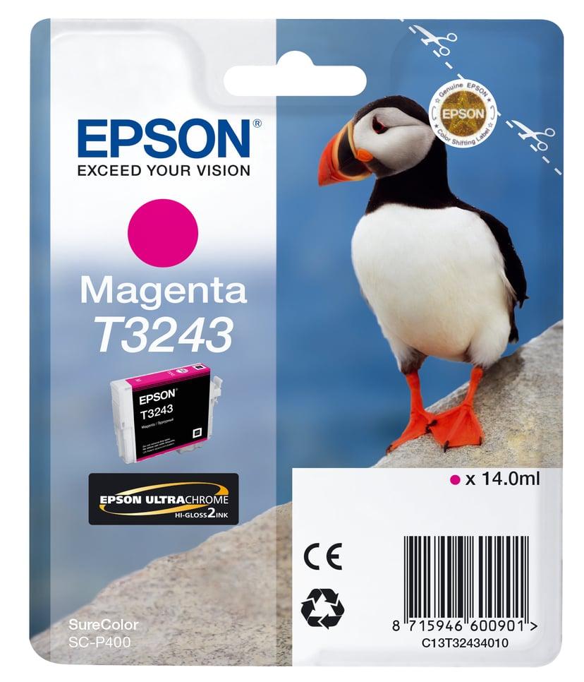 Epson Bläck Magenta T3243 - SC-P400