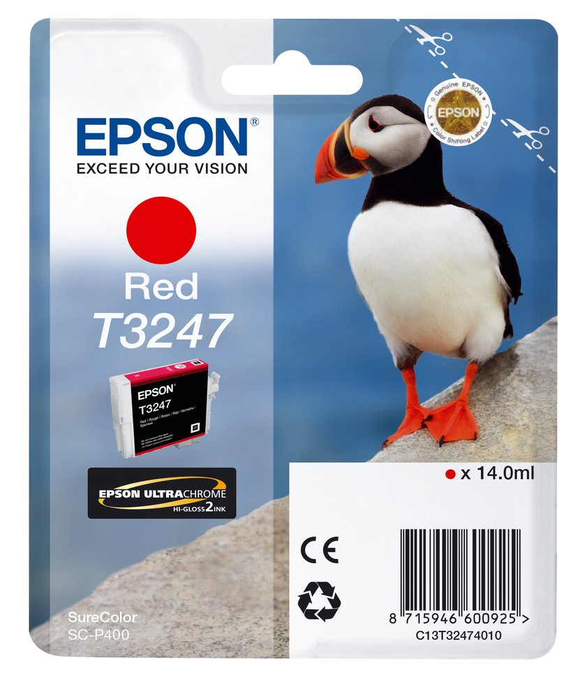 Epson Bläck Röd T3247 - SC-P400