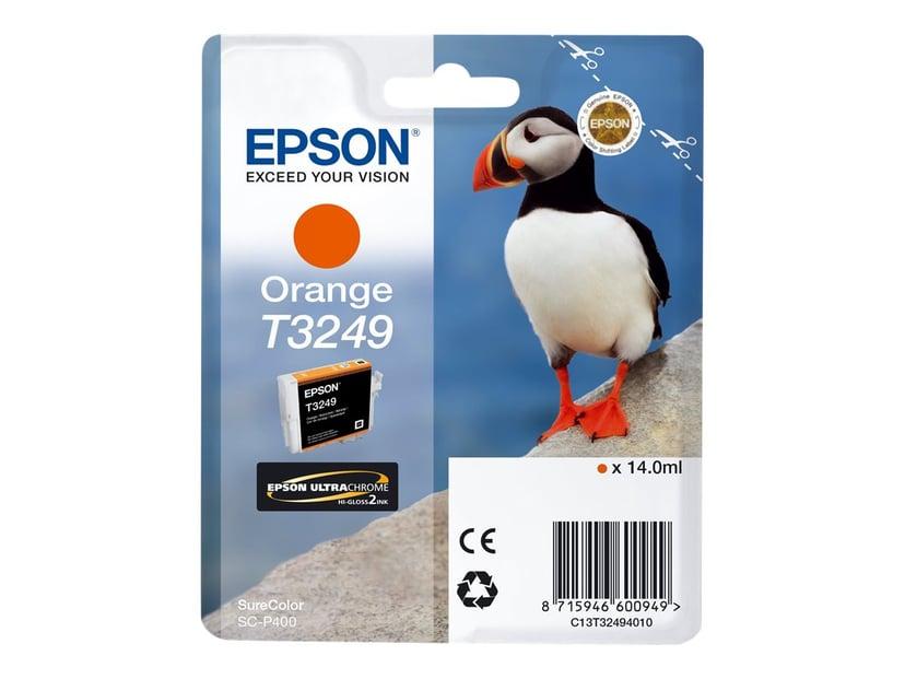 Epson Bläck Orange T3249 - SC-P400