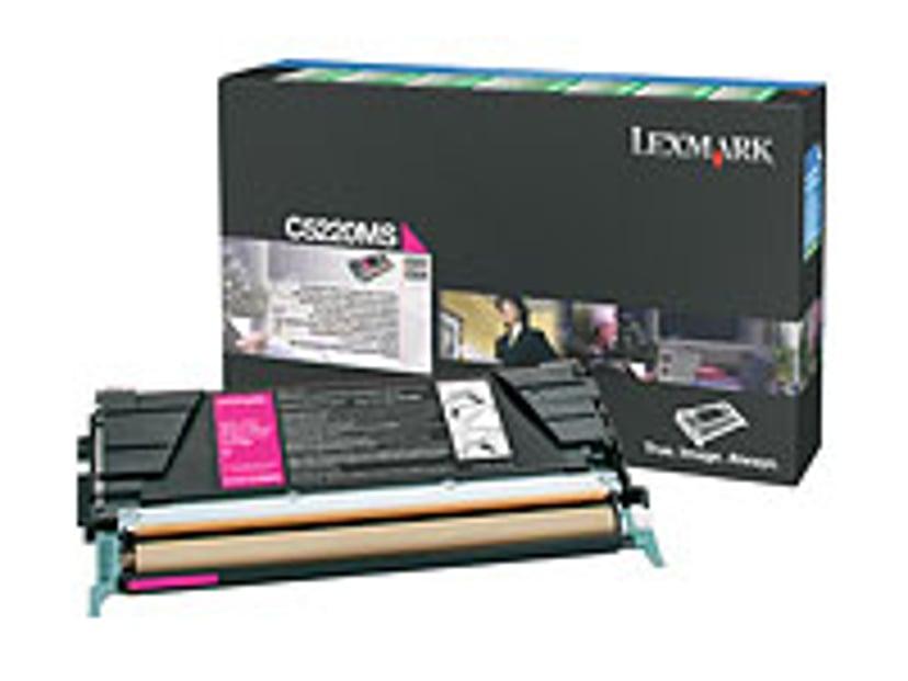 Lexmark Toner Magenta 3k C524/522N Return