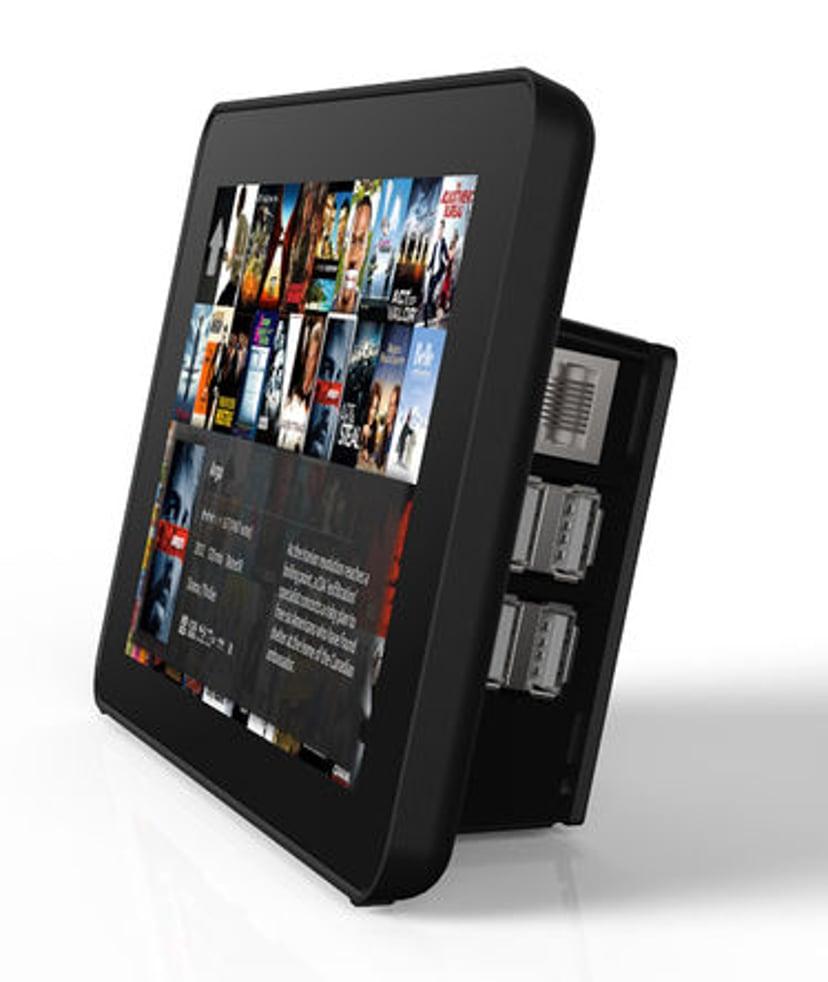Raspberry Pi Touchscreen Case For Raspberry Pi - Black
