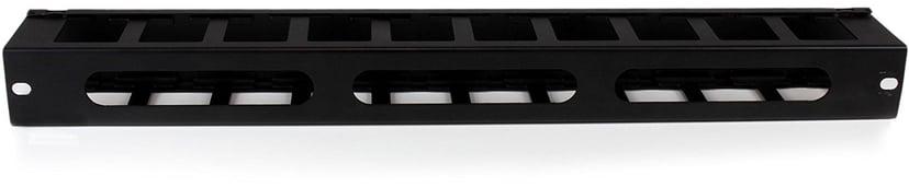 Startech Kabelgenomföringspanel med täckpanel