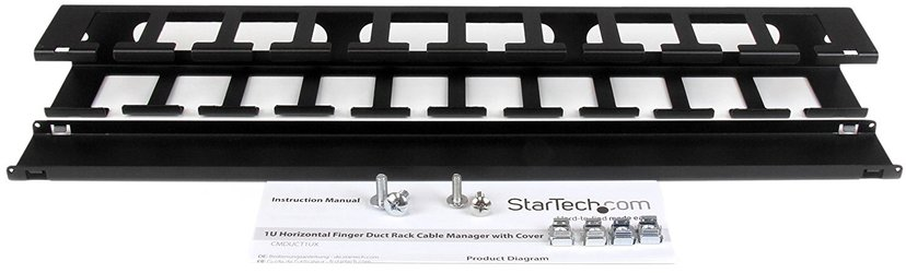 Startech Cable Management Panel with Cover