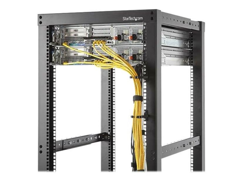 Startech 1U Vertical Rack Cable Management D-Ring