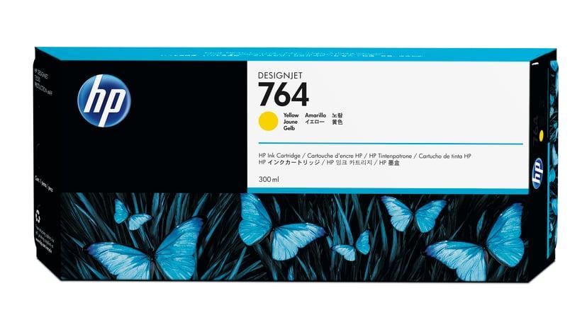 HP Blekk Gul 300ml - DJ T3500