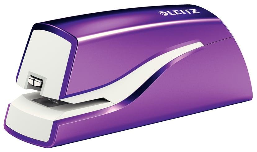 Leitz Elektrisk Häftapparat WOW Lila Batteri