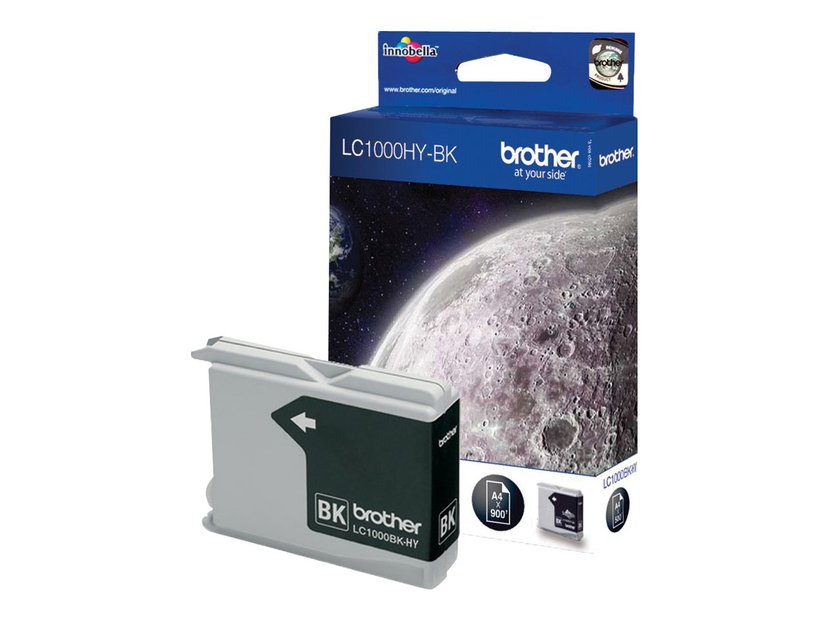 Brother Blekk Svart LC1100HYBK - DCP6690CW/MFC6490CW