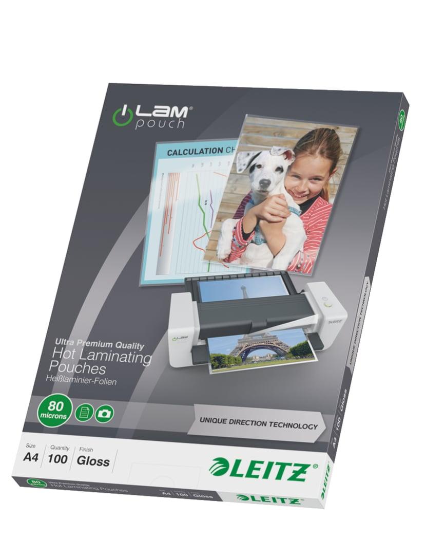 Leitz Lamineringsficka UDT 80mic A4 100st