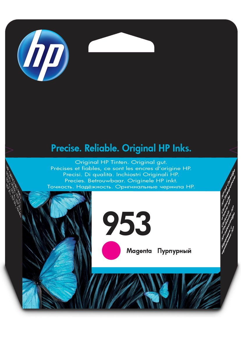 HP Blekk Magenta 953 - OfficeJet Pro 8710/8720/8730/8740