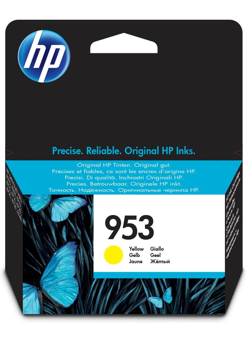 HP Blekk Gul 953 - OfficeJet Pro 8710/8720/8730/8740