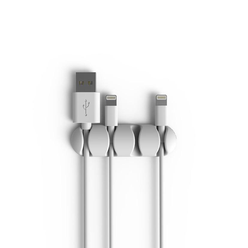 Bluelounge Cabledrop Multi Hvit 2-Pack