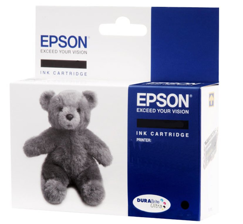 Epson Inkt Zwart T0611 D68/D88/DX4800/3800