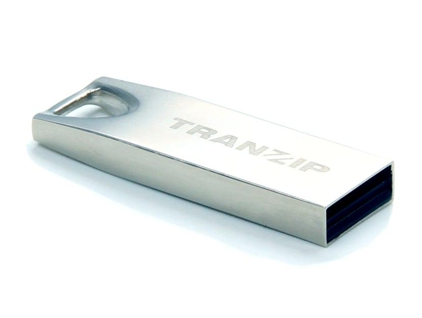 Tranzip Steel 16GB USB 2.0