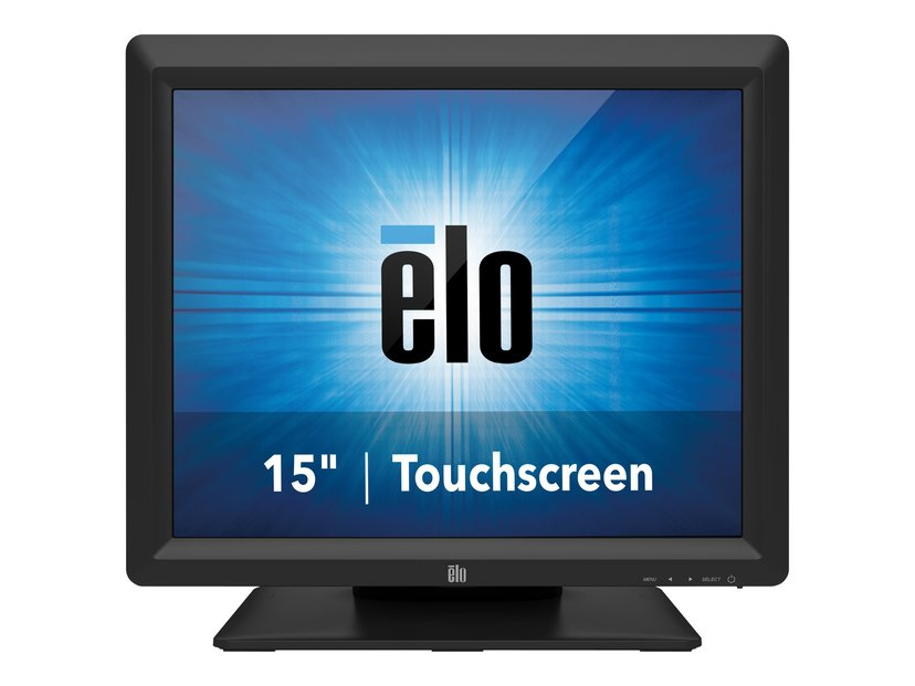 "Elo 1517L 15"" iTouch Zero-Bezel LCD LED Backlight VGA/USB/RS232 Svart"