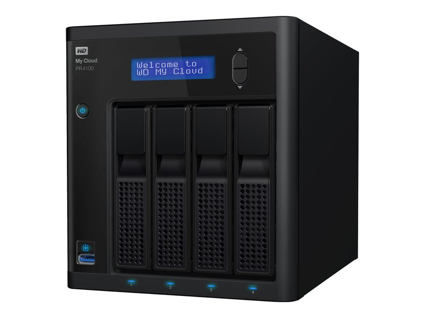 WD My Cloud Pro PR4100 16TB NAS-server