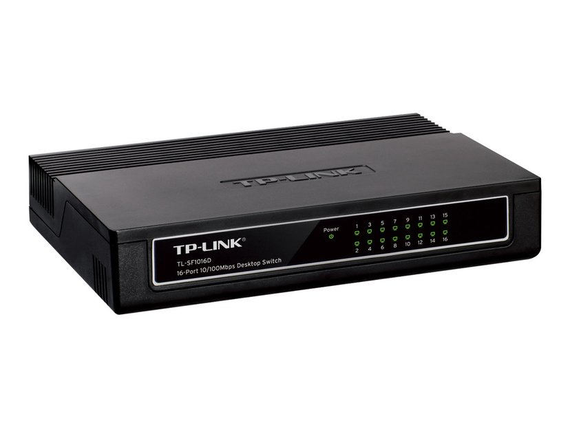 TP-Link TL-SF1016D 16-Port 10/100Mbps Desktop Switch
