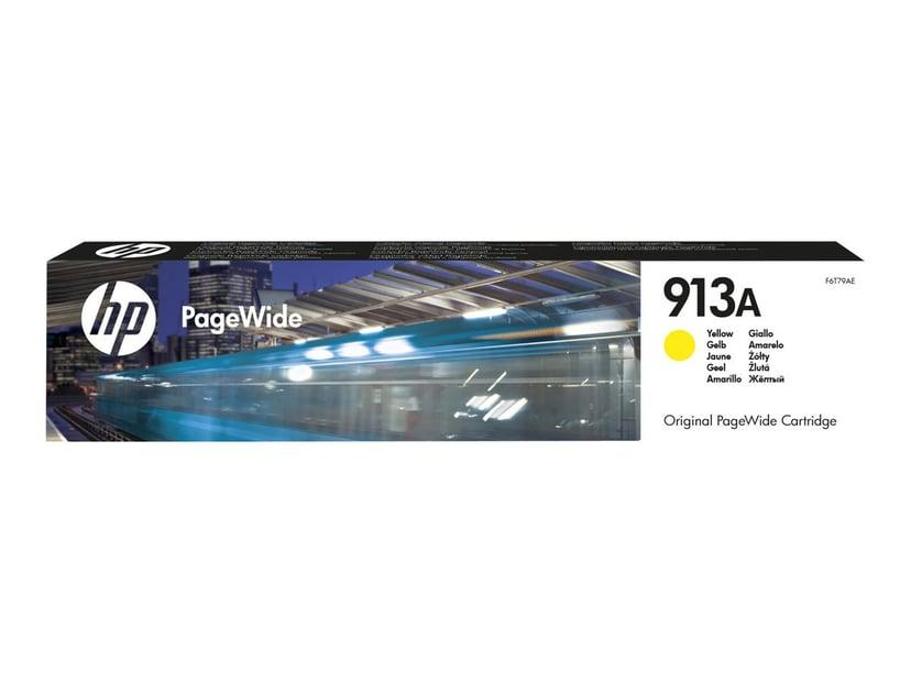 HP Blekk Gul 913A 3k - PW 377/452/477/552