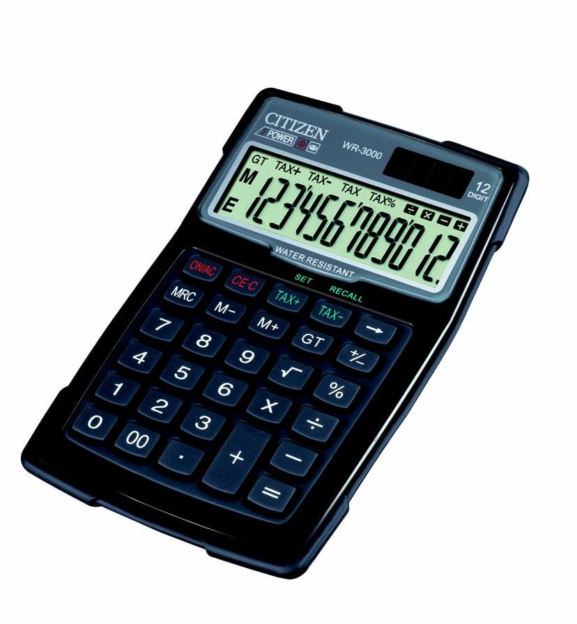 Citizen Kalkulator WR 3000