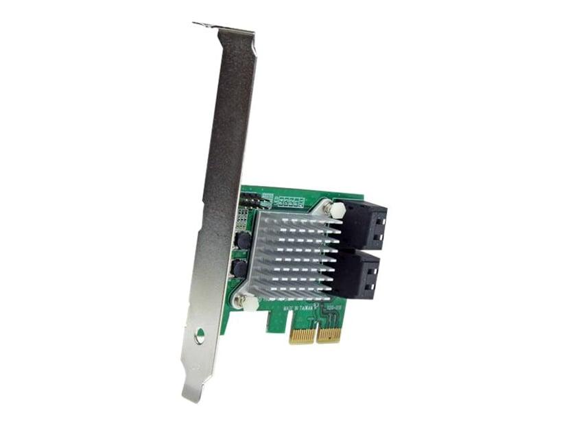 Startech 4 Port PCI Express SATA III RAID Card w/ HyperDuo SSD Tiering