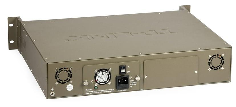 TP-Link TL-MC1400 Fibre Converter Chassi 14P