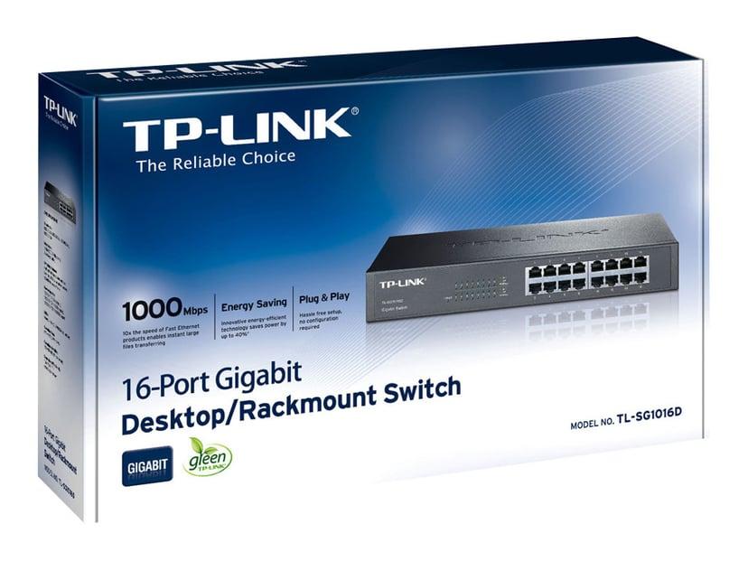 TP-Link TL-SG1016D 16-Port Gigabit Switch